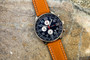 20 Series- Navy Blue Dial with Light Brown Strap