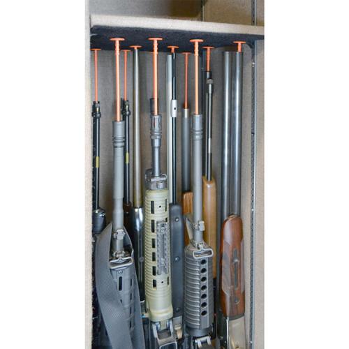 Rifle Rods Kit Medium 10 Orange