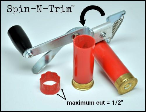 Spin-N-Trim Hull Trimmer 12ga