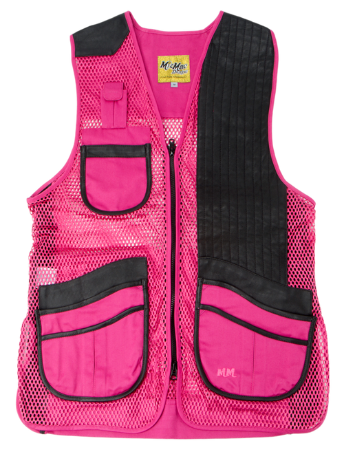 MizMac Ladies Vest Pink - Black