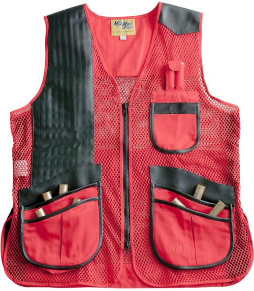 MizMac Ladies Vest Red/Black
