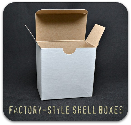 25 Round Factory Shell Box - QTY 10