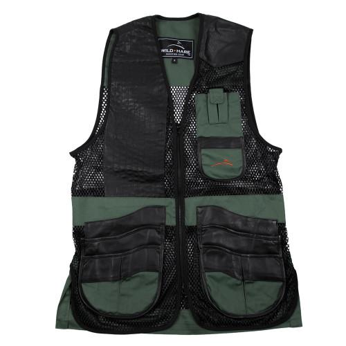 Wildhare Range Vest - Black/Green