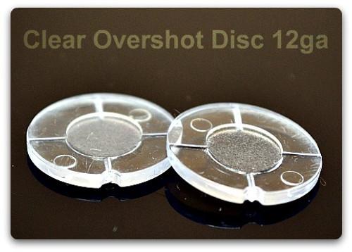 Clear Overshot Cards-12ga (500)