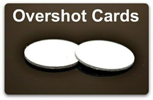 Overshot Cards 10 Gauge