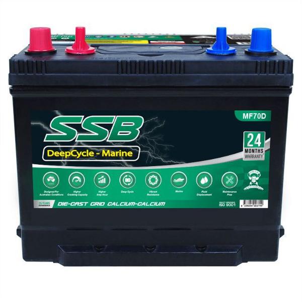 Battery MF70D 70ah
