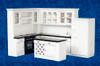 Modern Black & White Kitchen Set T5296