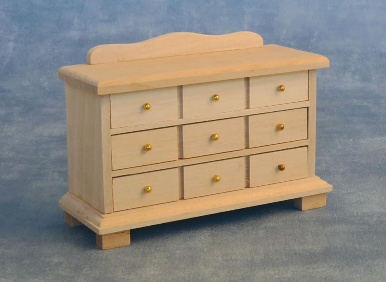 Barewood 9 Drawer Sideboard BEF200