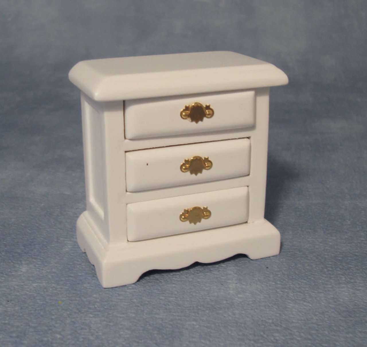 White Bedside Drawers DF1514