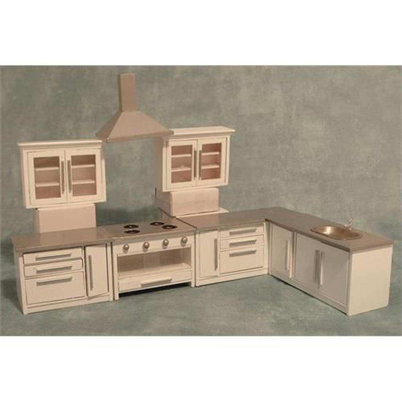 Modern White Kitchen Set DF977