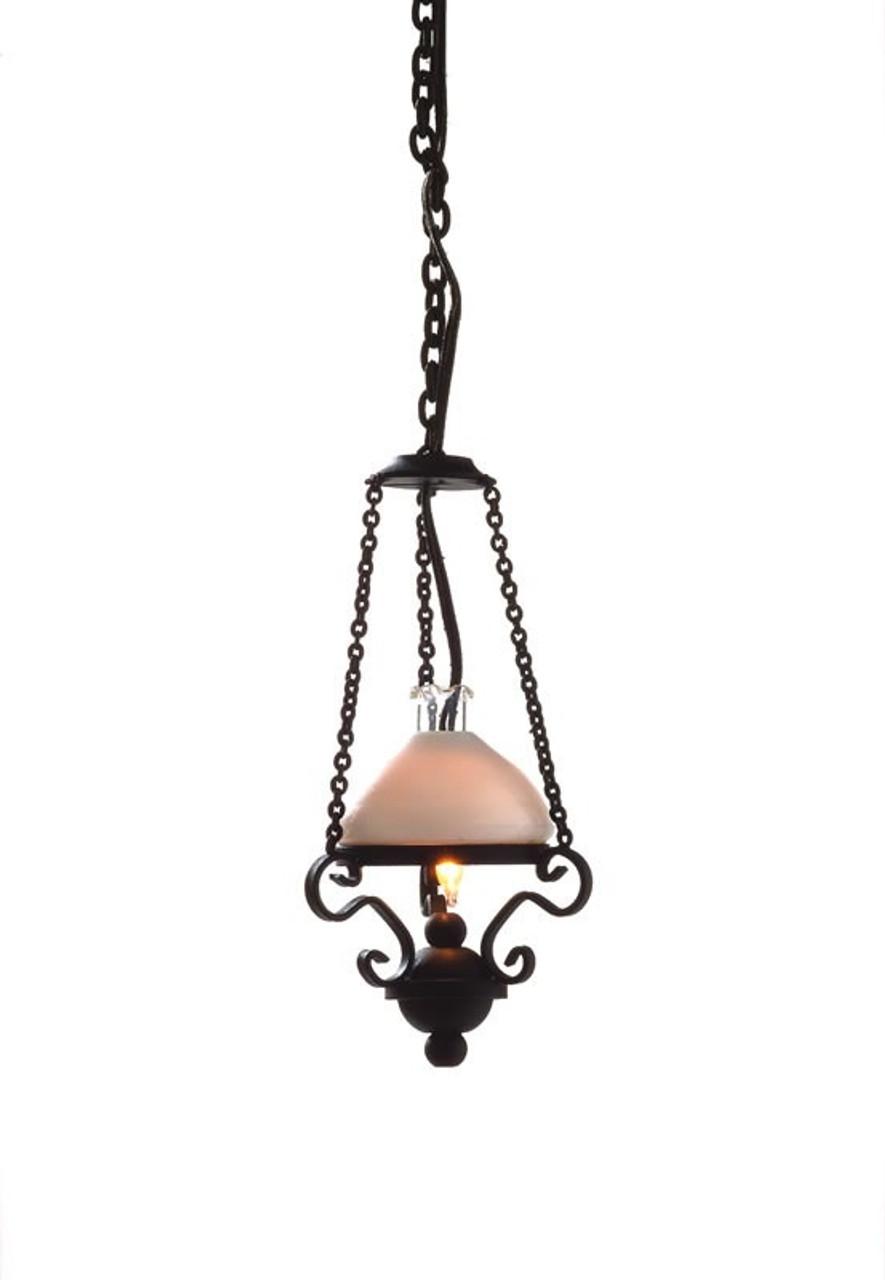Black & White Hanging Ceiling Light 7456