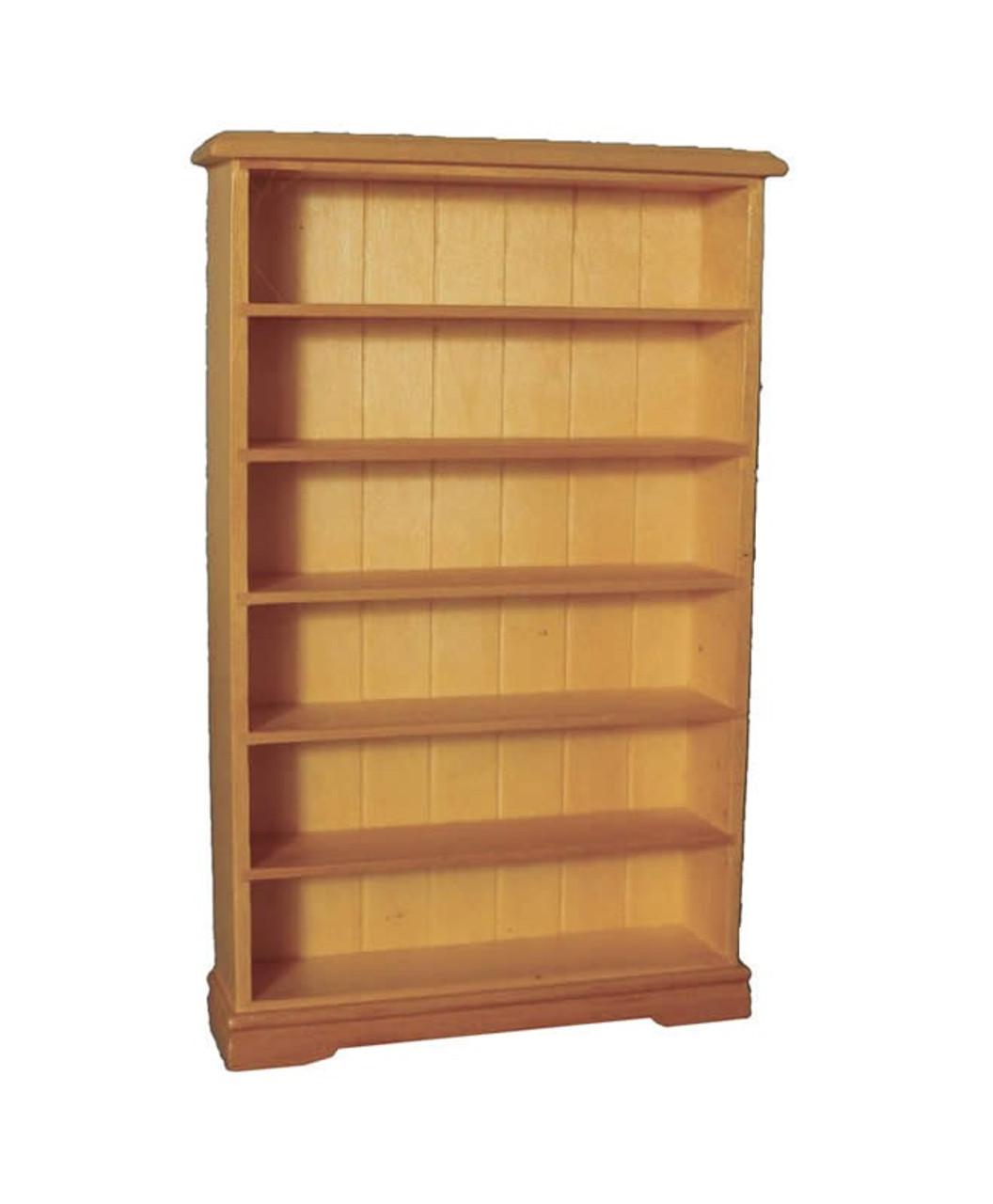 6 Shelf Bookcase in Pine DF1447