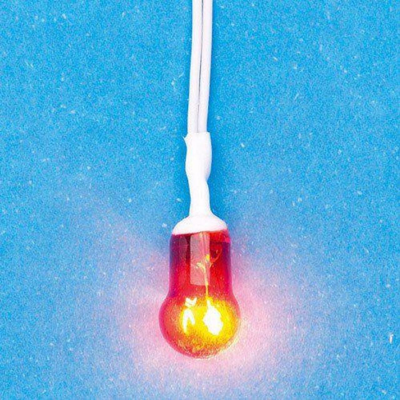 Orange globe bulb for fire 5202