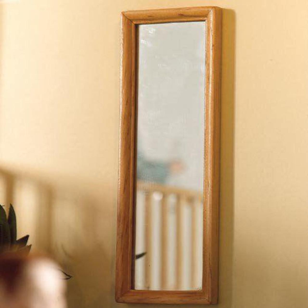 Light-wood Dressing Mirror 4918
