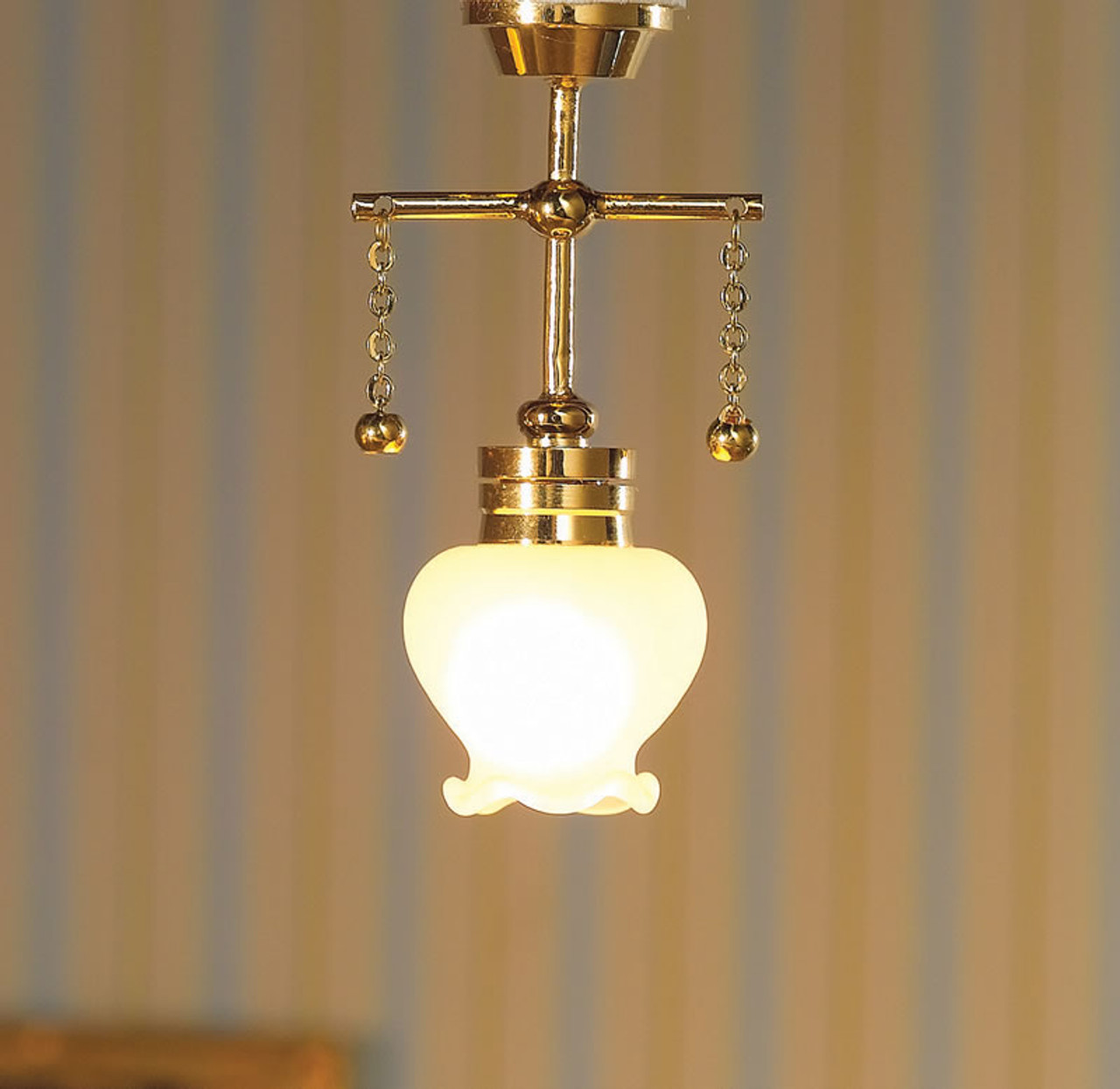 Hanging Light with Shaped Shade 7200