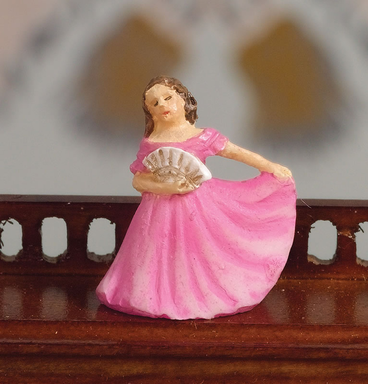 Ornamental Lady in Cerise 5124