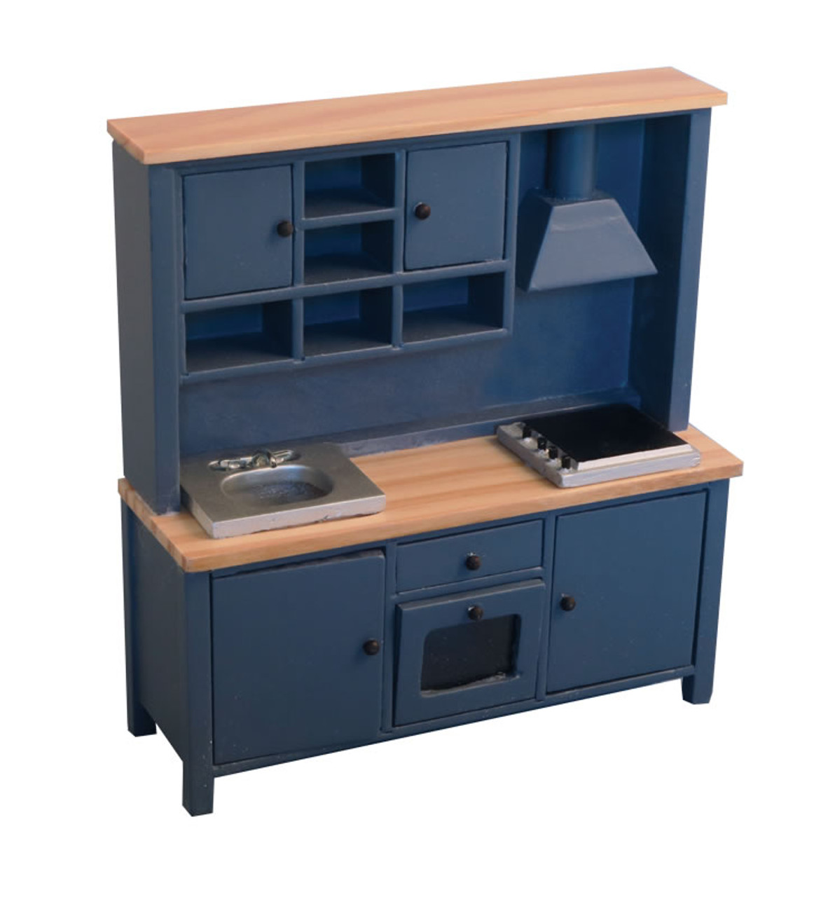 All-in-one Kitchen System Blue and Pine 9299