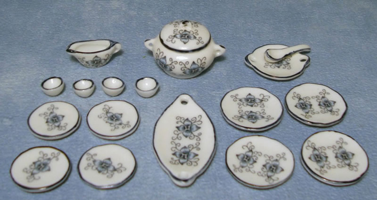 Lotus Dinner Set 18pc D1724
