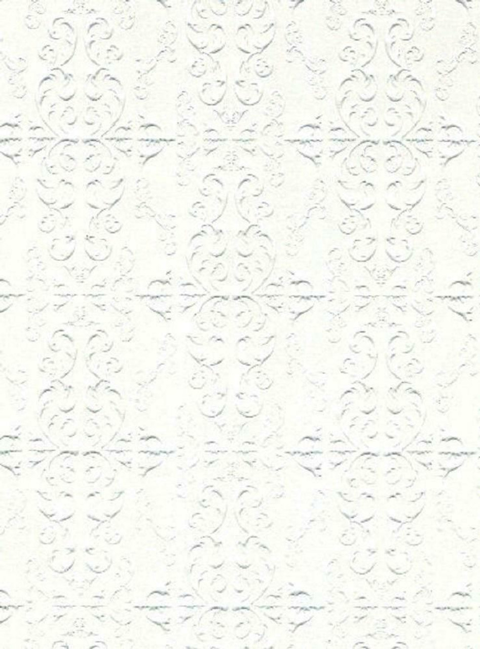 A3 White Embossed Ceiling Paper DIY138