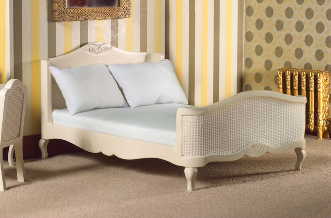 French Style Cream Double Bed 5631