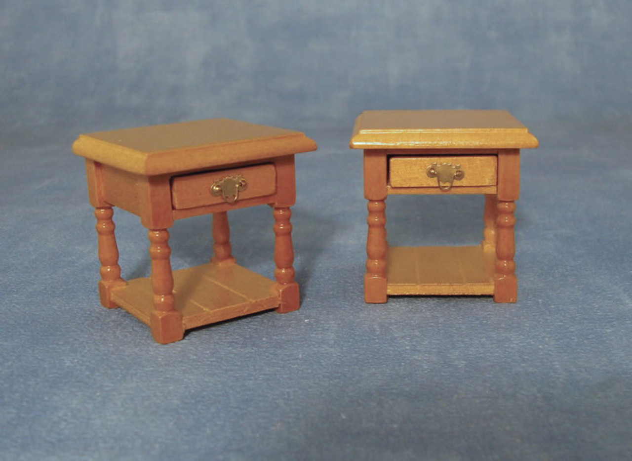 Pine Bedside Table Pack of 2 DF1452