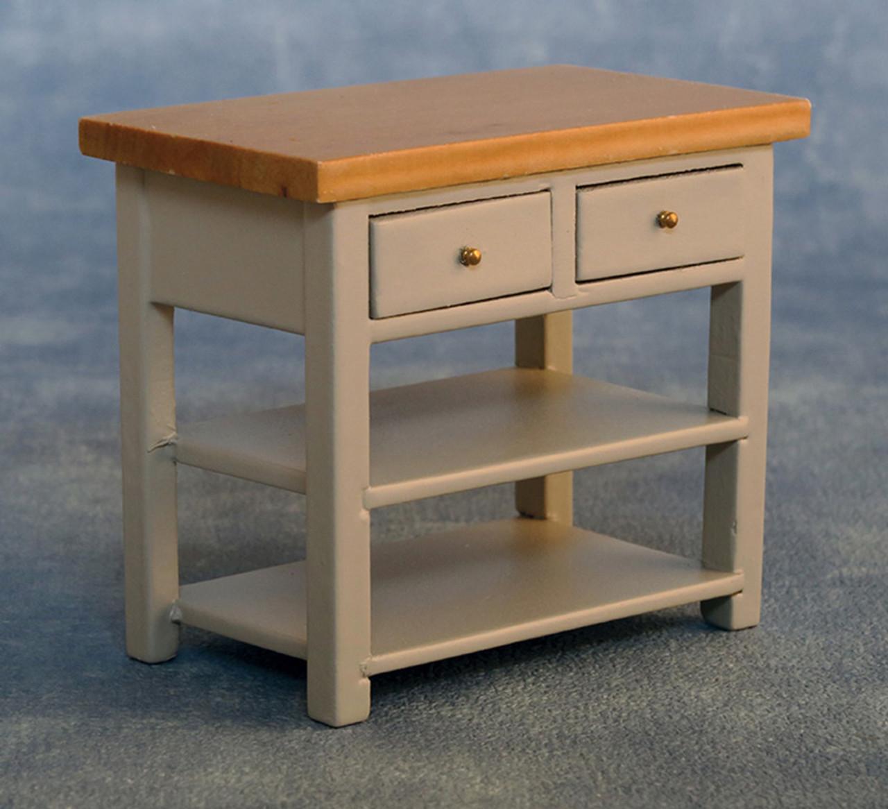 Shaker-Style Sideboard Grey/Pine 9338