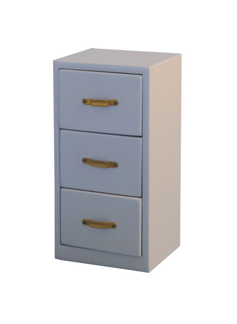 Grey Office Filing Cabinet DF1575