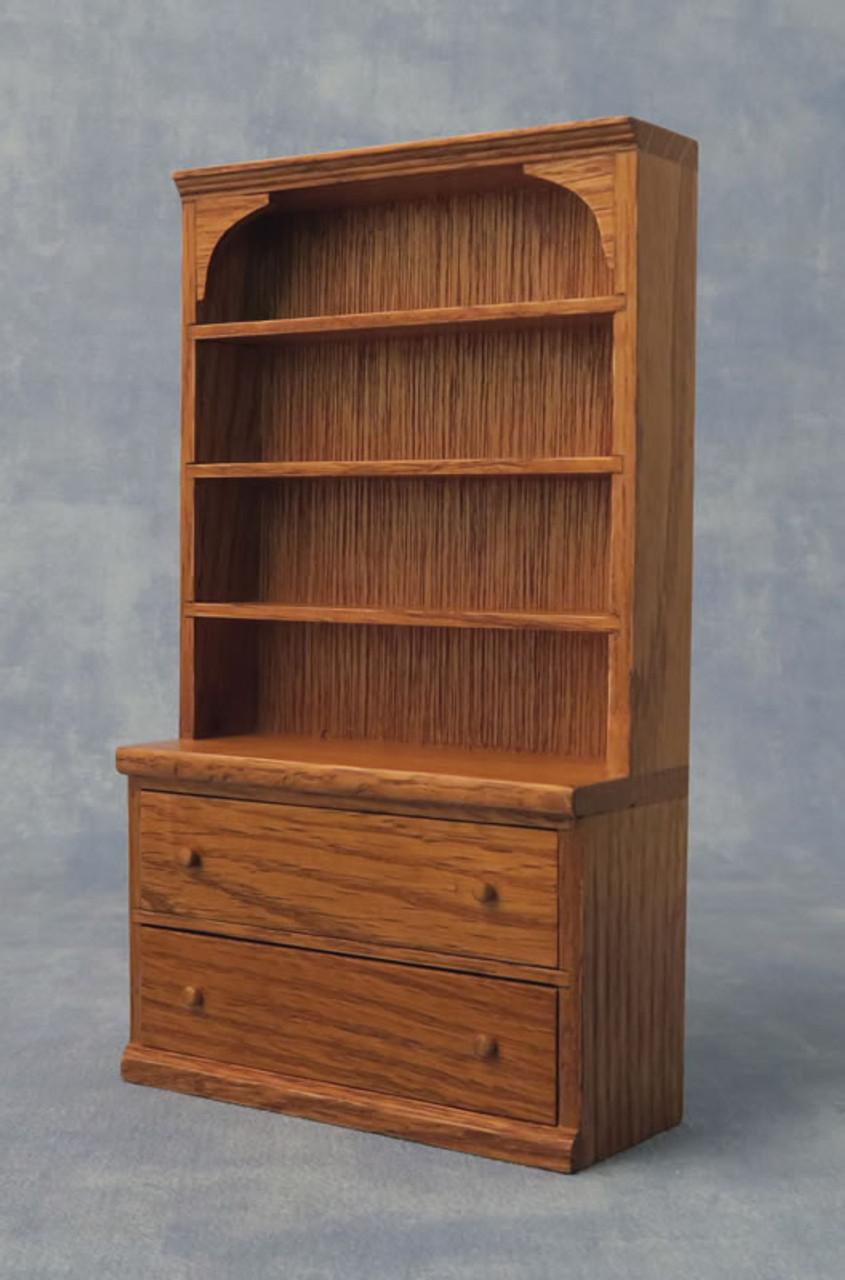 Oak Shelf Dresser DF76911