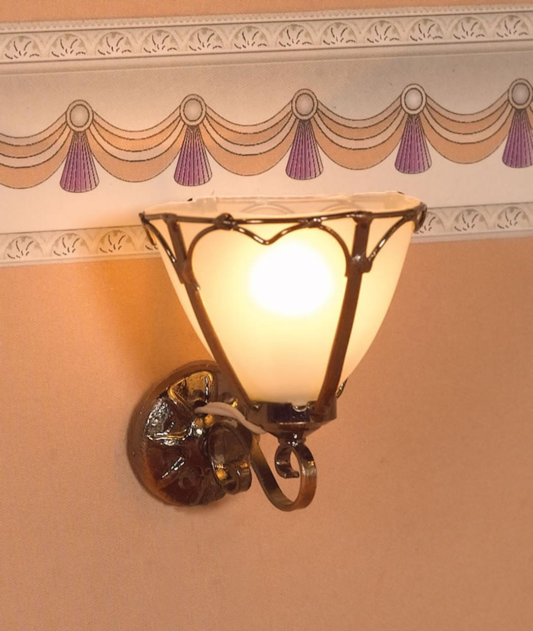 'Art Nouveau' Wall Light 2887