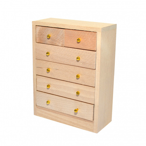 Barewood Chest of Drawers BEF072