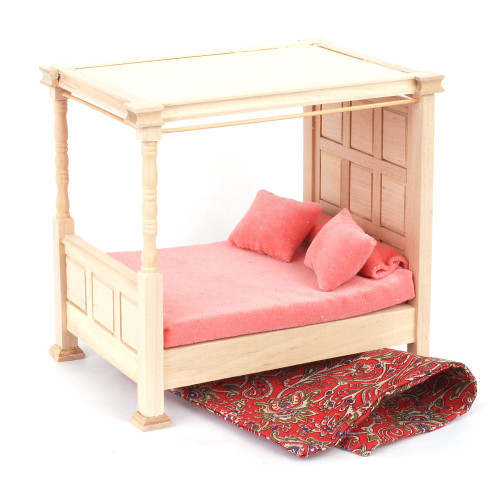 Barewood Four Poster Bed BEF083