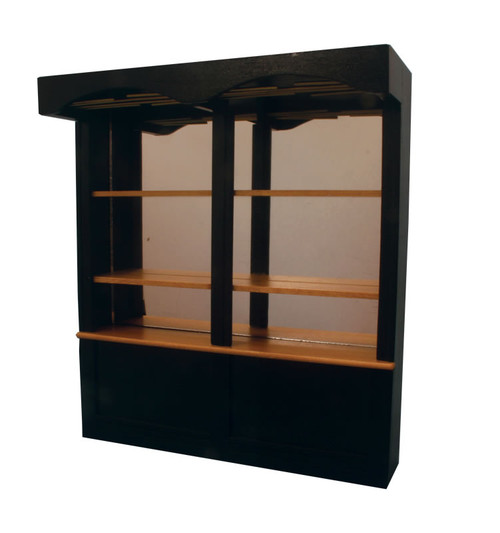 Black Bar Shelf Unit 9236