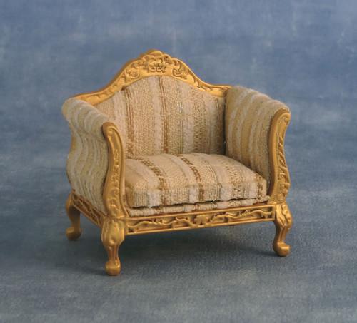 Gold & Silver Louis XV Armchair 9267