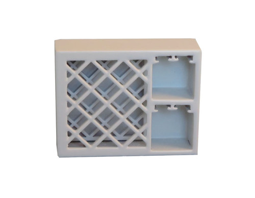 Wine Rack in White 9302