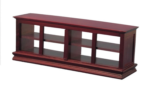 Shop Counter with 'Glass' Mahogany DF76005