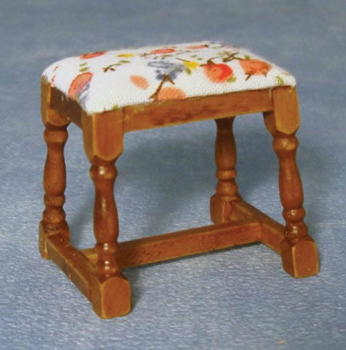 Oak Dressing Table Stool DF1206