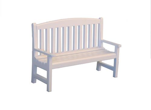 White Garden Bench DF1597