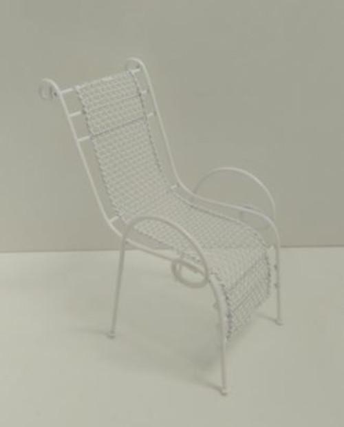 White Garden Chair DF597