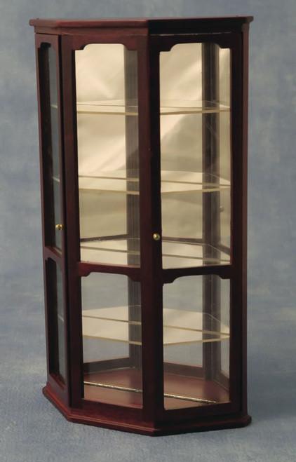 Display Case, Cabinet in Mahogany DF76002