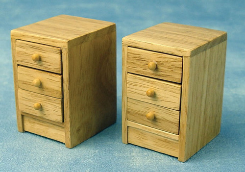 Pair of Modern Bedside Cabinets DF949