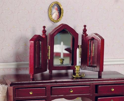 Dressing Table Mirror in Mahogany 2117