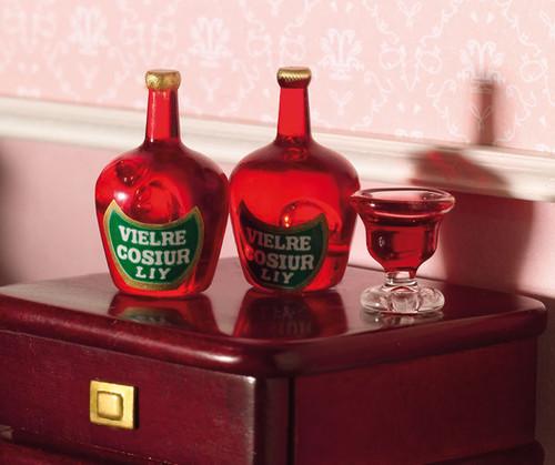 Liqueur Bottles, 2 Pieces 3552