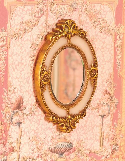 Ornate Oval Mirror 5130