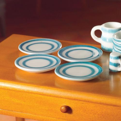Cornish-Style Plates, 4 Pieces 5550