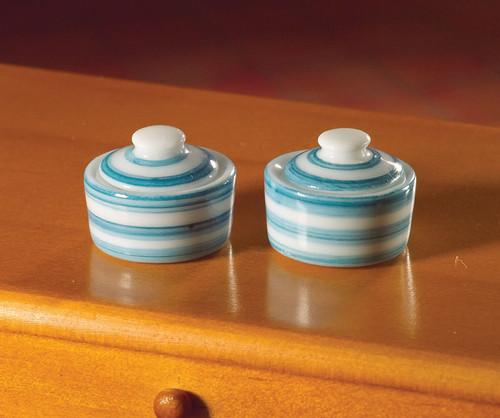 Cornish-Style Pots, Jars 4 Pieces 5941