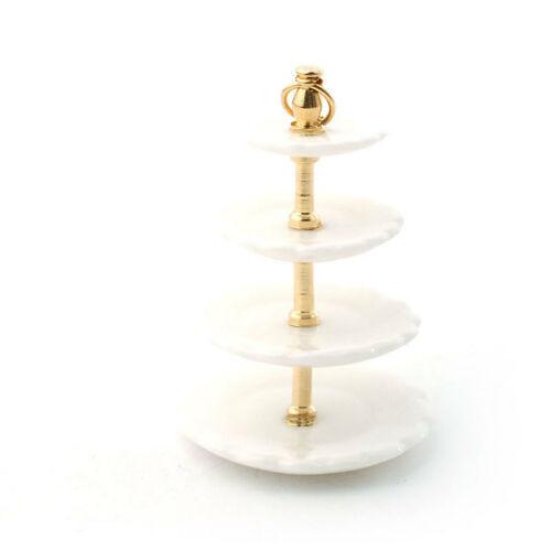 White 4 Tier Cake Stand 6088