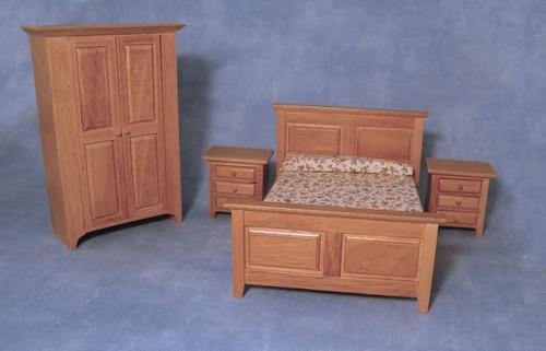 Country Bedroom Set, 4pcs 4437