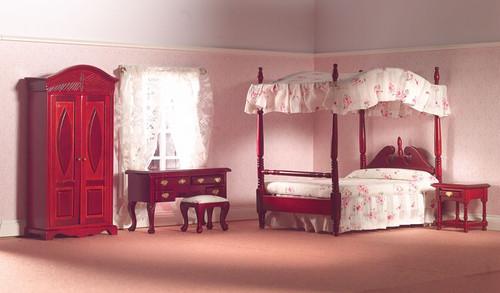 Traditional Bedroom Set, 5pcs 5967
