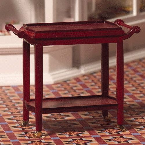 Two - Tiered Serving Trolley 4205