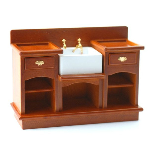 Sink Unit with Shelves DF863